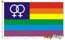 RAINBOW VENUS  ANYFLAG RANGE - VARIOUS SIZES